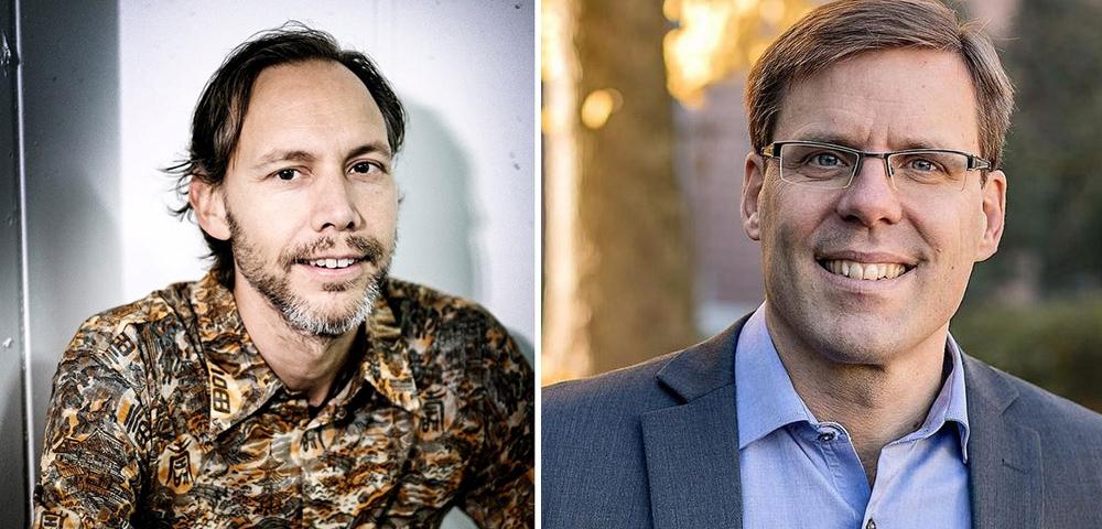 Thomas Pederson och Björn Lantz